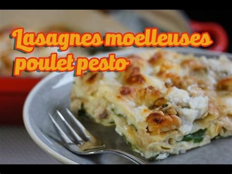 cuisine lasagne facile recette facile des lasagnes moelleuses poulet ricotta pesto focus cuisine