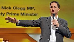 Nick Clegg suffers party fatigue in Sheffield   Daily Mail ...