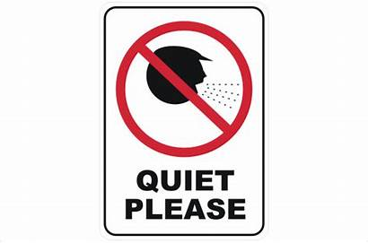 Quiet Please Signs P2227 Safety Prohibition National