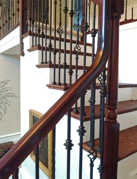 iron banisters 16 1 3 single basket iron baluster stairsupplies