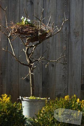 ein nest aus birkenreisig nest aus birkenreisig diy