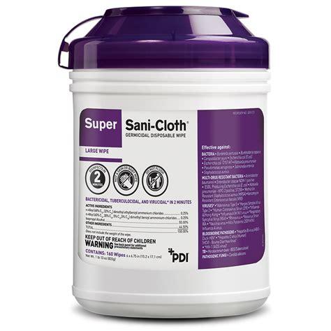 Super Sani-Cloth® Germicidal Disposable Wipe - PDI Healthcare