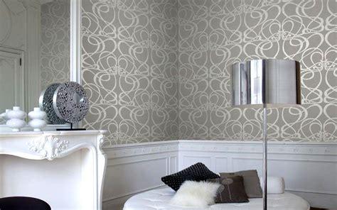 tapete schwarz grau luxus tapeten klassisch und modern kaufen