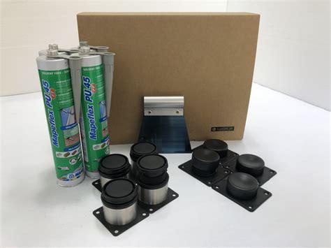 piatto doccia montaggio kit montaggio piatto doccia su misura acciaio inox fai da