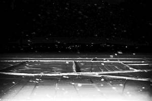 Anime Snow Scenery Gif Black And White Animated Pictures