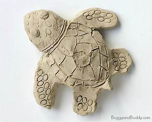Clay Sea Turtle Art Activity for Kids - Buggy and Buddy