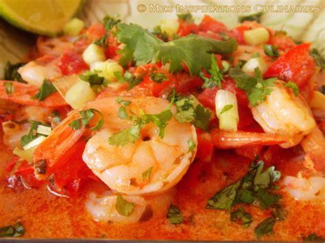 recette de cuisine avec des crevettes recette crevette au lait de coco le cuisine de samar
