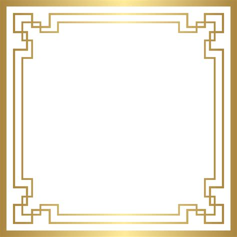 border deco frame png gold clip art gallery yopriceville
