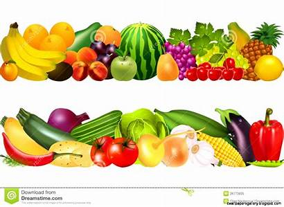 Vegetables Fruits Fruit Clip Clipart Fresh Border