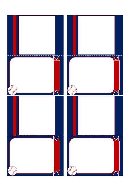Card Template Colored Baseball Card Template Free