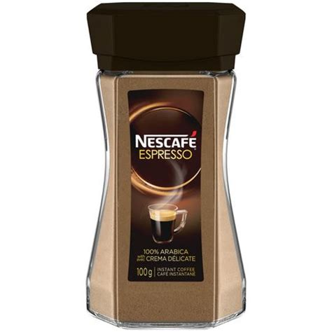 There is nothing easier than boiling a pot of water and pouring it into a cup — no filters or fancy brewing machines. NESCAFÉ® Espresso Instant Coffee   Walmart.ca