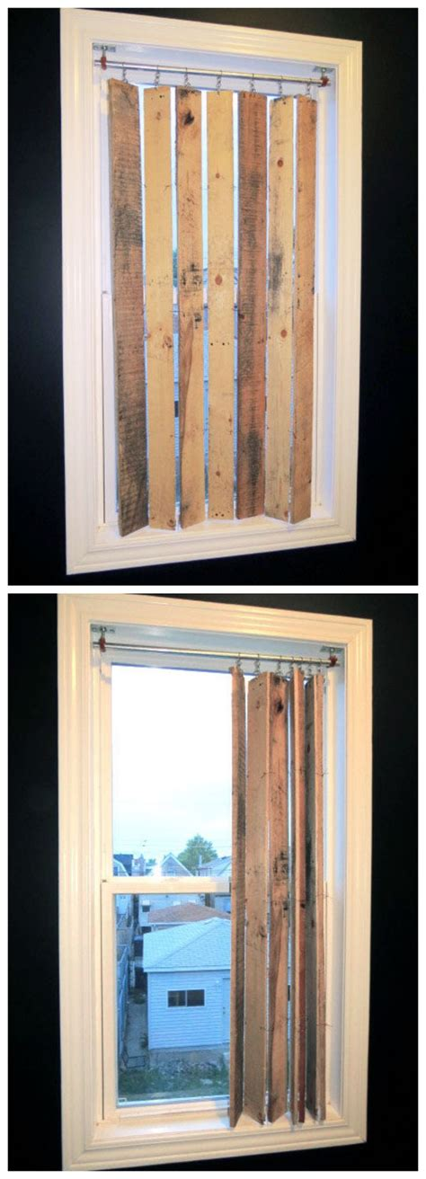 Diy Blinds by Best 25 Rustic Window Treatments Ideas On