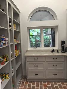 Our, Client, Requested, Open, Shelving, In, The, Pantry, So, We, Gave, Them, As, Much, As, Possible, In, The