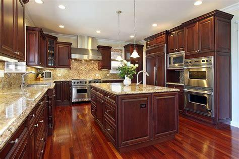 cherry wood kitchens cabinet designs ideas