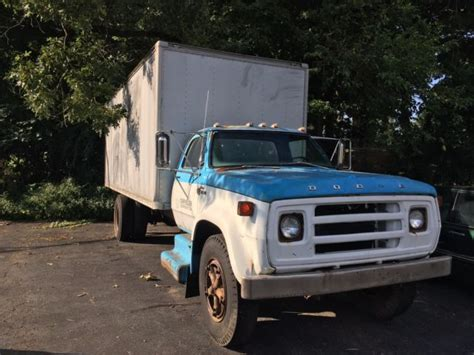 Is Dodge Owned By Chrysler by 1977 Dodge 700 Custom Box Truck Chrysler Owned