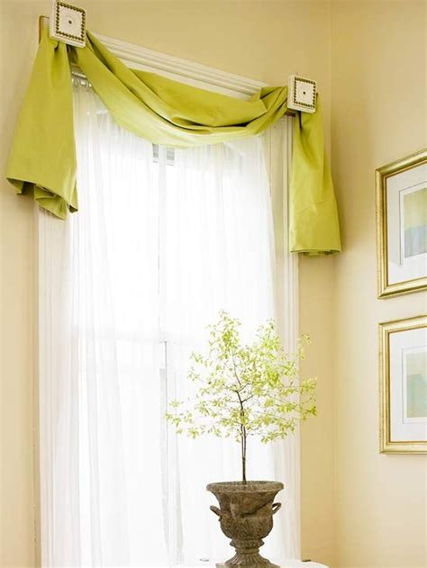 window treatment styles swag simple and window