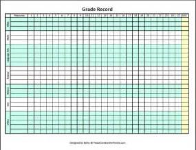 free grade sheets homeschool grade sheet printable just b cause