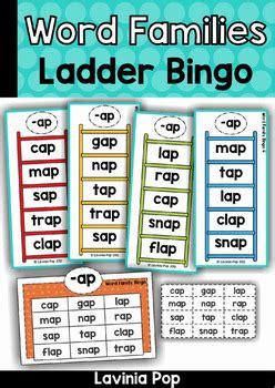 word family ladder bingo  lavinia pop teachers pay