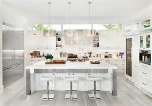 grey kitchen floor ideas 30 gorgeous grey and white kitchens that get their mix right