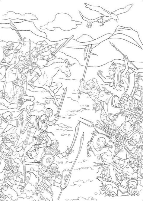 kids  funcom  coloring pages  narnia  chronicles  narnia