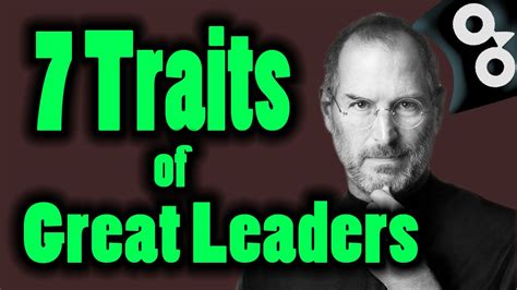 leader   great leadership traits youtube