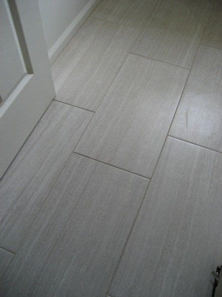 grey rectangle tile   bathroom floor ideas