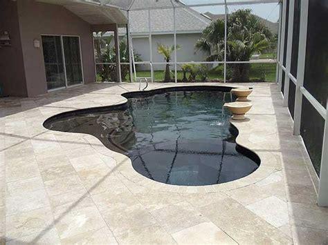 travertine pool deck qualities great pool decks