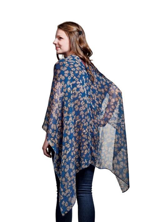 How To Make Upholstery Patterns by How To Sew A One Seam Poncho
