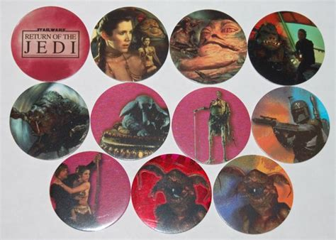Star Wars Pogs By Canada Games