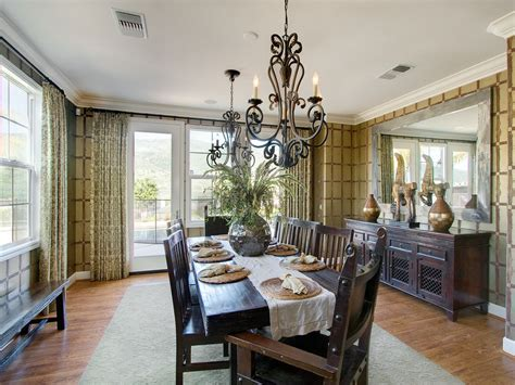 magnificent mirrored buffet in dining room contemporary with chandelier ideas to table