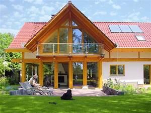 Fachwerkhaus Bauen Kosten : modernes landhaus mit rotem ziegeldach concentus modernes fachwerkhaus ~ Frokenaadalensverden.com Haus und Dekorationen