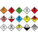 Dangerous Goods Dg Class Classes Hazardous Hazmat