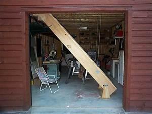 96 Garage Loft Stairs Garage Sliding Attic Stairs 17