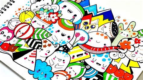 doodle art berikut penjelasan   membuatnya
