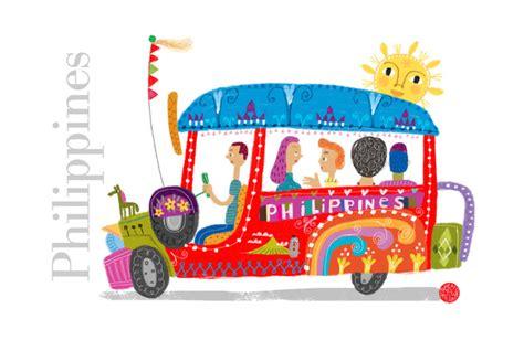 Philippine Jeepney Art Print