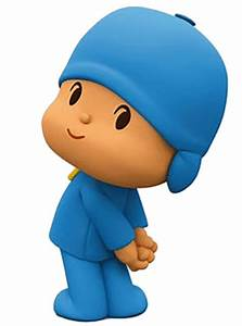 Cartoon Characters: Pocoyo (PNG)