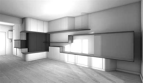 la maison 5 cr 233 er un bureau console tv entre une entr 233 e et un s 233 jour mur tv mur