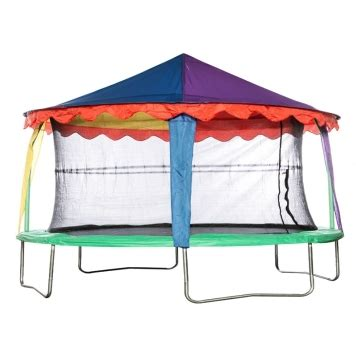 #15ft trampoline tent, #15ft trampoline , #trampoline tent. Bazoongi 10ft X 15ft Oval Circus Tent Canopy   All Round Fun