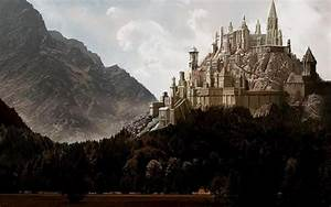 CASTLE ON A HILL Wallpaper and Background Image | 1440x900 ...