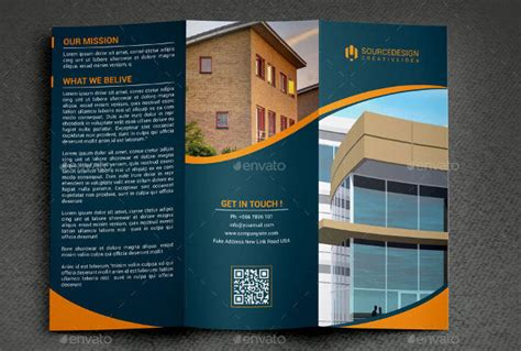 real estate brochure designs examples  psd