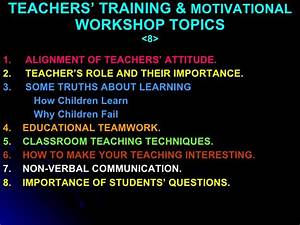 Teaching Quality Improvement Program