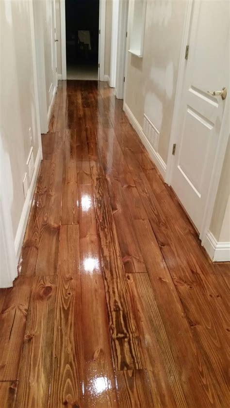 Heart Pine Minwax Provincial Stain Floors Ive
