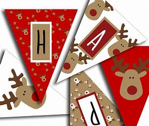 Happy Holidays Banner Christmas Party Printable Sign