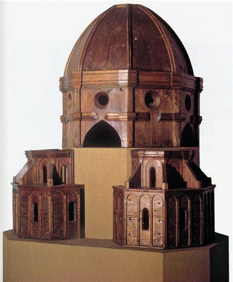 brunelleschi cupola brunelleschi filippo wood model for the dome c 1418 wood