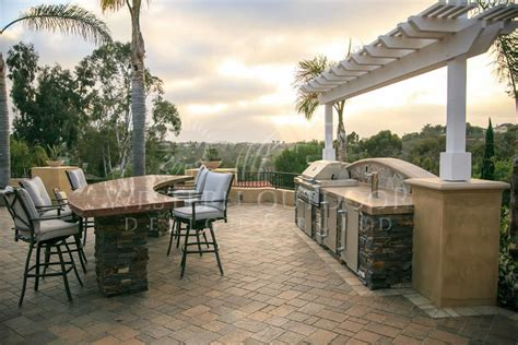 san diego pavers veneer bbq islands gallery by