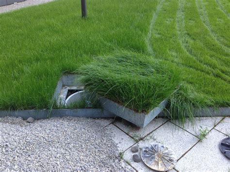 Garten Landschaftsbau Tarif Gehalt kanaldeckel im garten verdecken hausidee