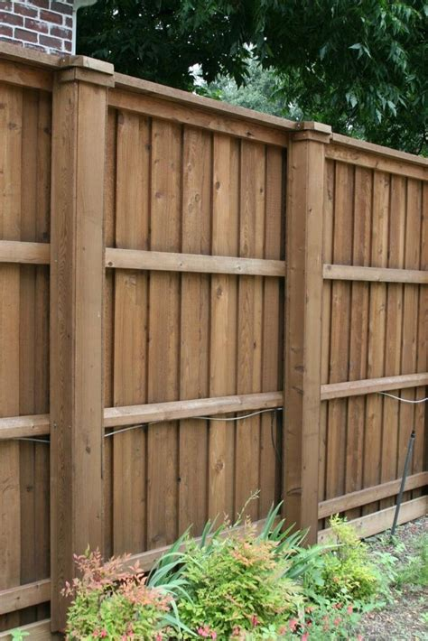 wood fence styles best 25 wood fences ideas on pinterest wooden fence backyard fences and fencing