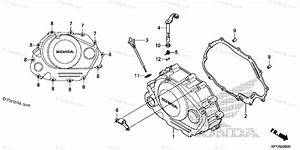 Honda Motorcycle 2014 Oem Parts Diagram For Right