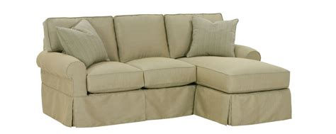 reversible sectional sofa chaise small slipcovered sectional sofa w reversible chaise