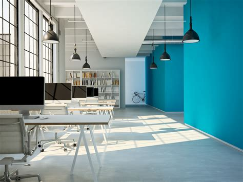 colors   office influence  work performance